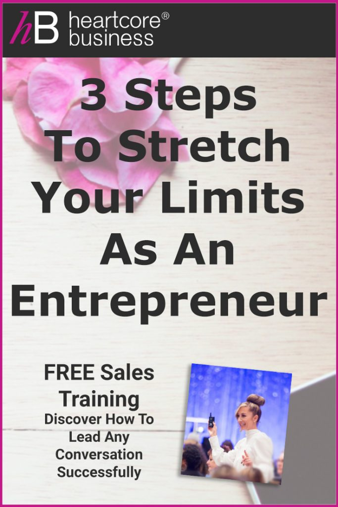 There are three things we believe every entrepreneur should understand in order to access freedom.I'll share with you three steps to stretch yourself, stretch your limits, without breaking so you can create exactly what you want to create in your life—and your business. Re-pin and join my FREE training on how you can convert Conversations into Cash! #heartcorebusiness #businessempire #entrepreneur #coaching #onlinebusiness #businesscoach