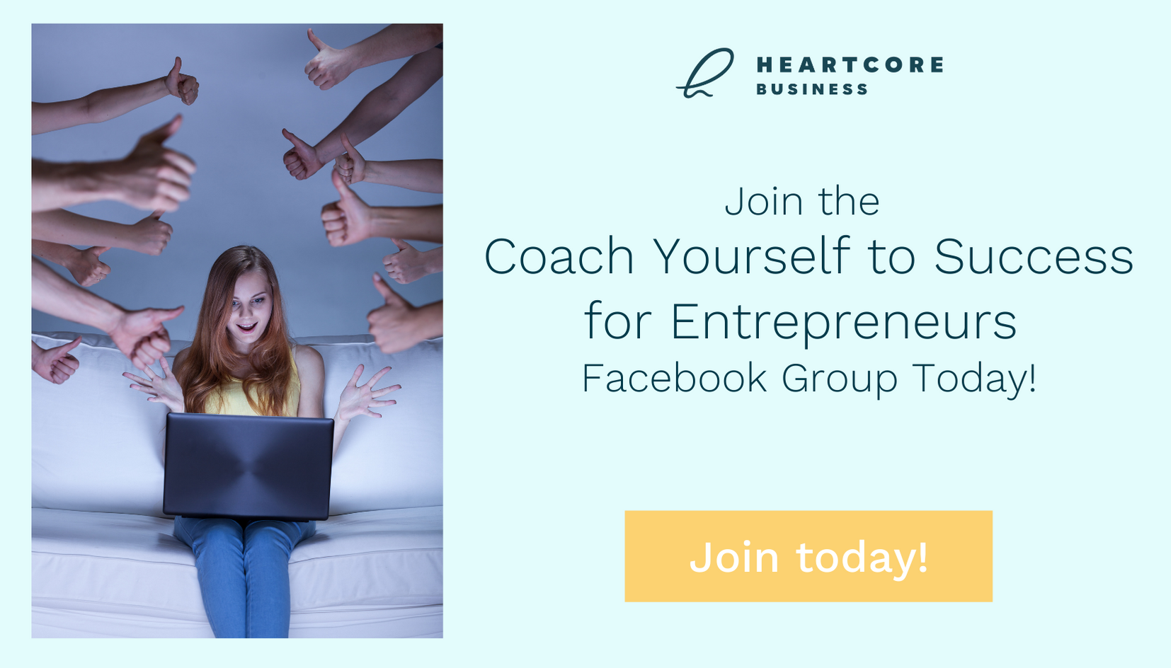 Join the Coach Yourself to Success for Entrepreneurs Facebook Group Today